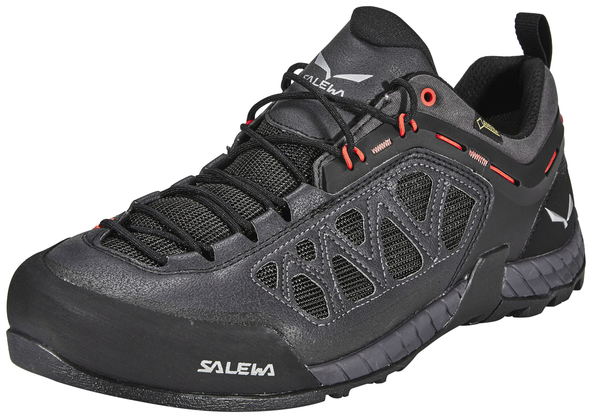 Salewa Klettergurt Größentabelle : Salewa firetail gtx shoes men black out papavero campz
